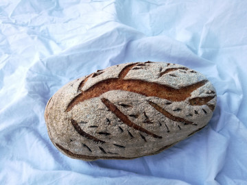 Kmínový chléb Strom