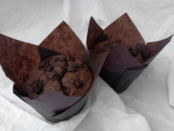 Čokoládové muffiny 3 ks